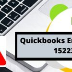 Quickbooks Error 15223